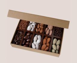 Roasted almonds tasting box...