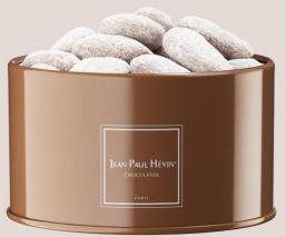 Milk caramel almonds - tin box