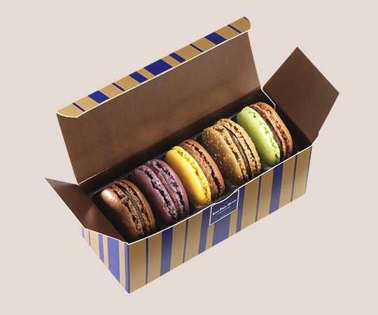 Macarons set - 5 pieces