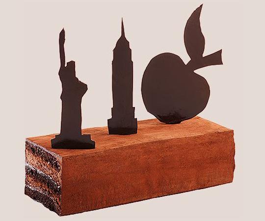 Gâteau du voyage JFK...