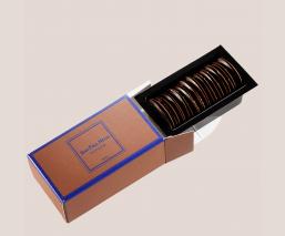 Thin chocolate round refill
