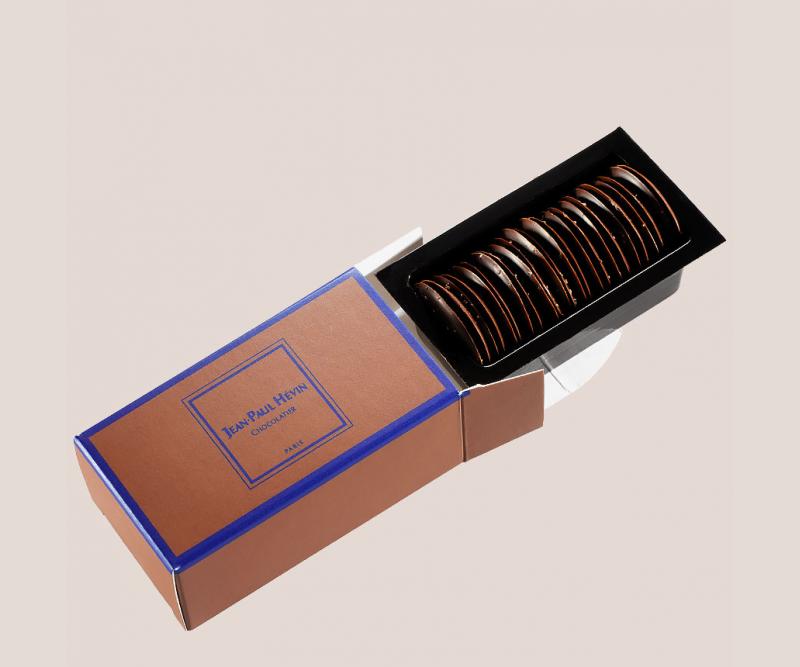 etui palets fins ronds chocolat
