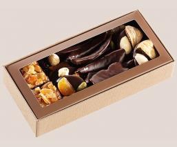 Crunchy chocolates box 140g