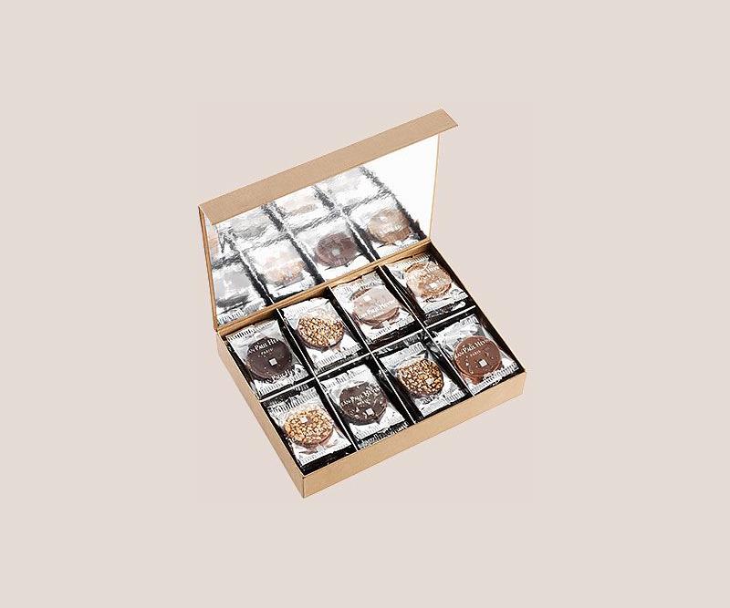 Coffret degustation de palets chocolat