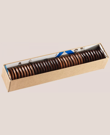 reglette palets fins ronds chocolat assortis