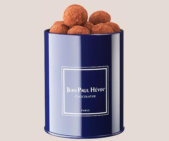 Boite metal de truffes cacao