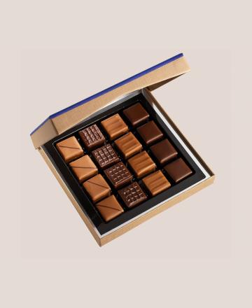 Boite cave 16 chocolats