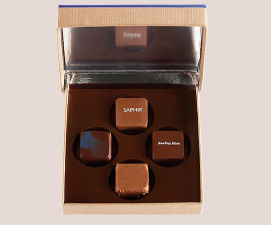 Boite 4 chocolats assortis