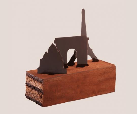 Gâteau du Voyage CDG - Jean-Paul Hévin