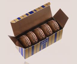 Millot Macarons set - 5 pieces