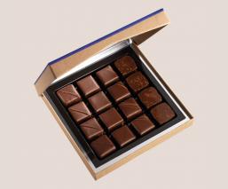 Dark Chocolate cellar 16 pces