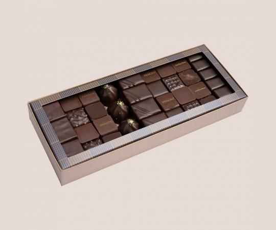 Classical dark chocolate...