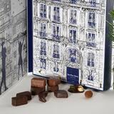 Tout l'art du chocolat Jean-Paul Hévin, décliné en 24 créations en attendant Noël.  • • • #jeanpaulhevin #maisonhévin #calendrierdelavent #noël #chocolat #cacao #artisanatfrancais #paris